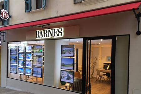 Luxury real estate agency BARNES LITTORAL-VAROIS