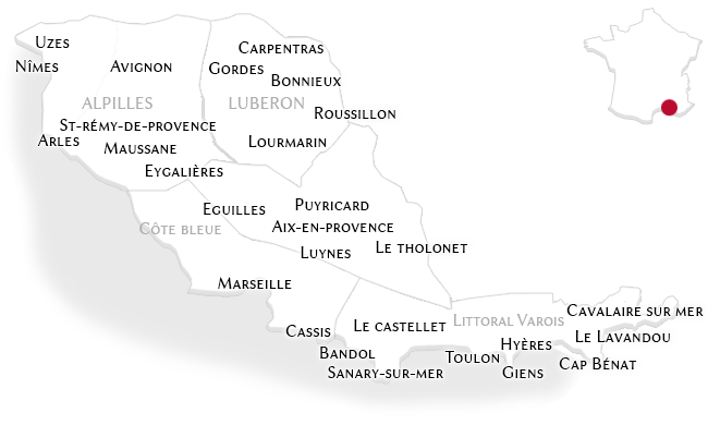 Properties in Provence and its Littoral