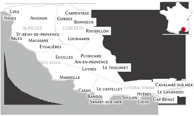 Les Propriétés en Provence et sur son Littoral
