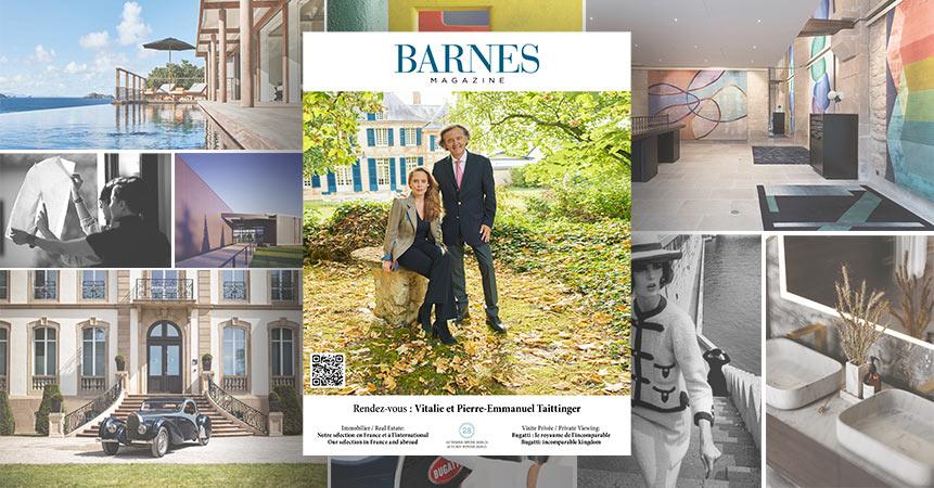 Nouvelle édition Automne-Hiver 2020 du BARNES Magazine