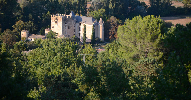 Les châteaux de Provence